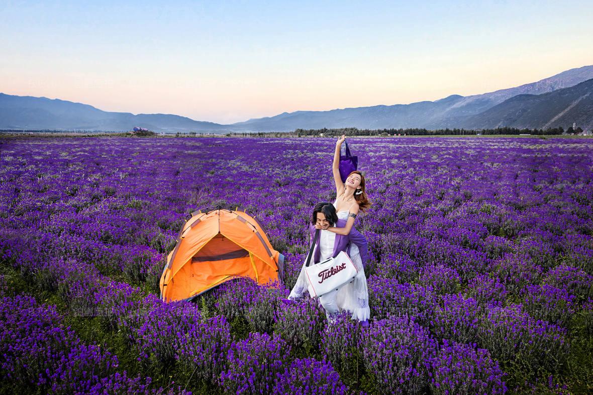 薰衣草什么季节拍照最好 厦门可以拍薰衣草婚纱照吗?