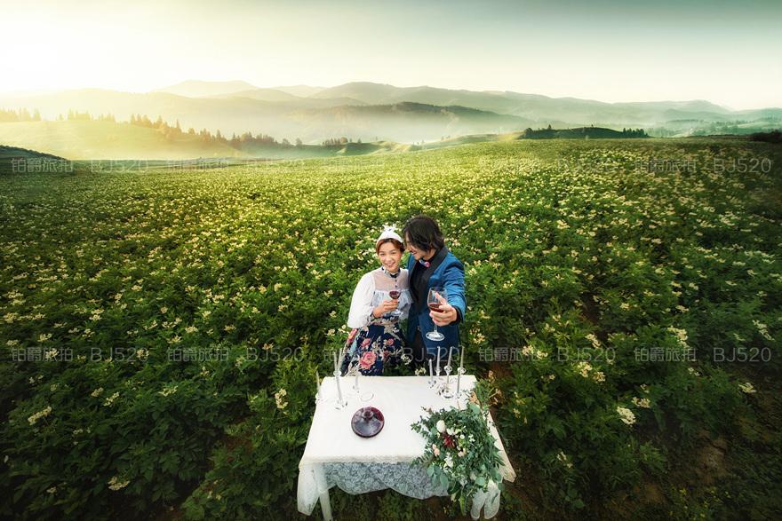 韩式婚纱照发型介绍 如何拍好婚纱照?