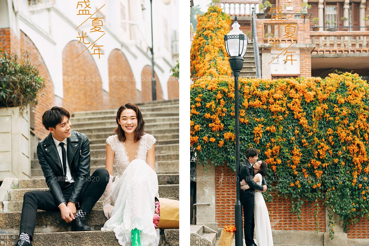 厦门婚纱照摄影准新娘要摆什么姿势最合适呢