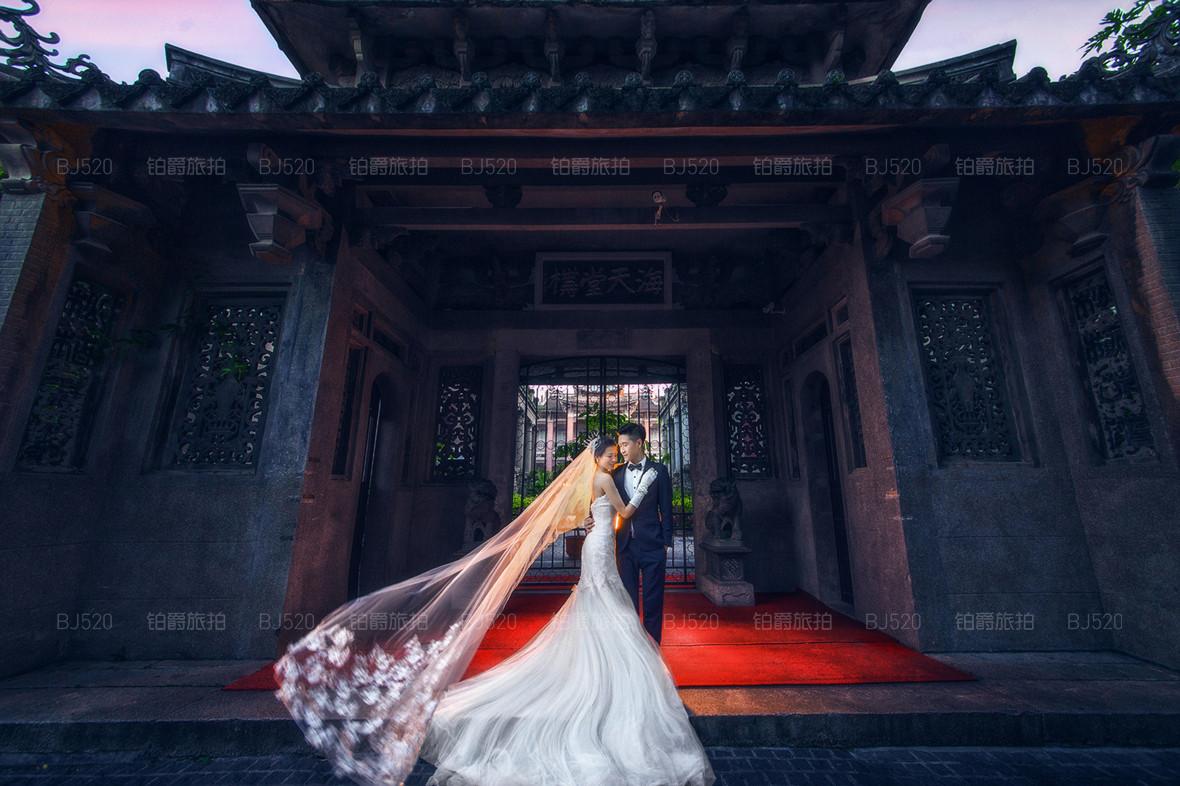 唯美浪漫的厦门婚纱照哪家好?铂爵旅拍为您介绍