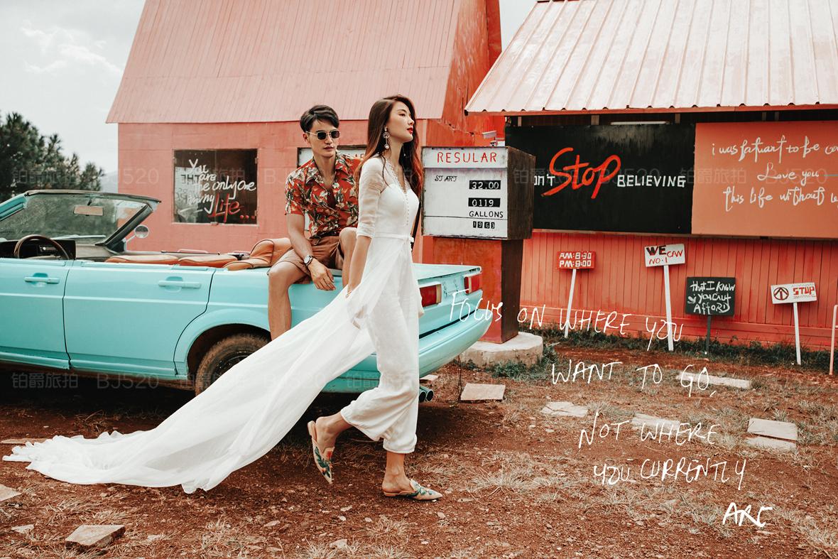 潮流婚纱照风格介绍 了解与众不同的婚纱照