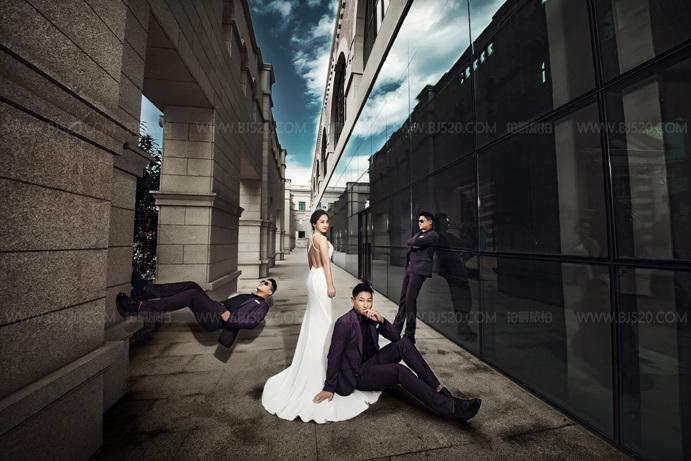 婚纱照服装怎么选 厦门婚纱摄影攻略