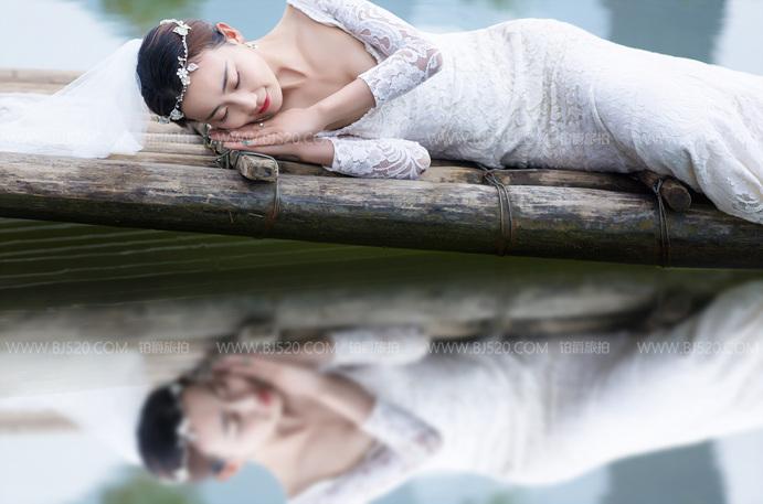 婚纱照挂在哪里比较好?能挂床头吗?
