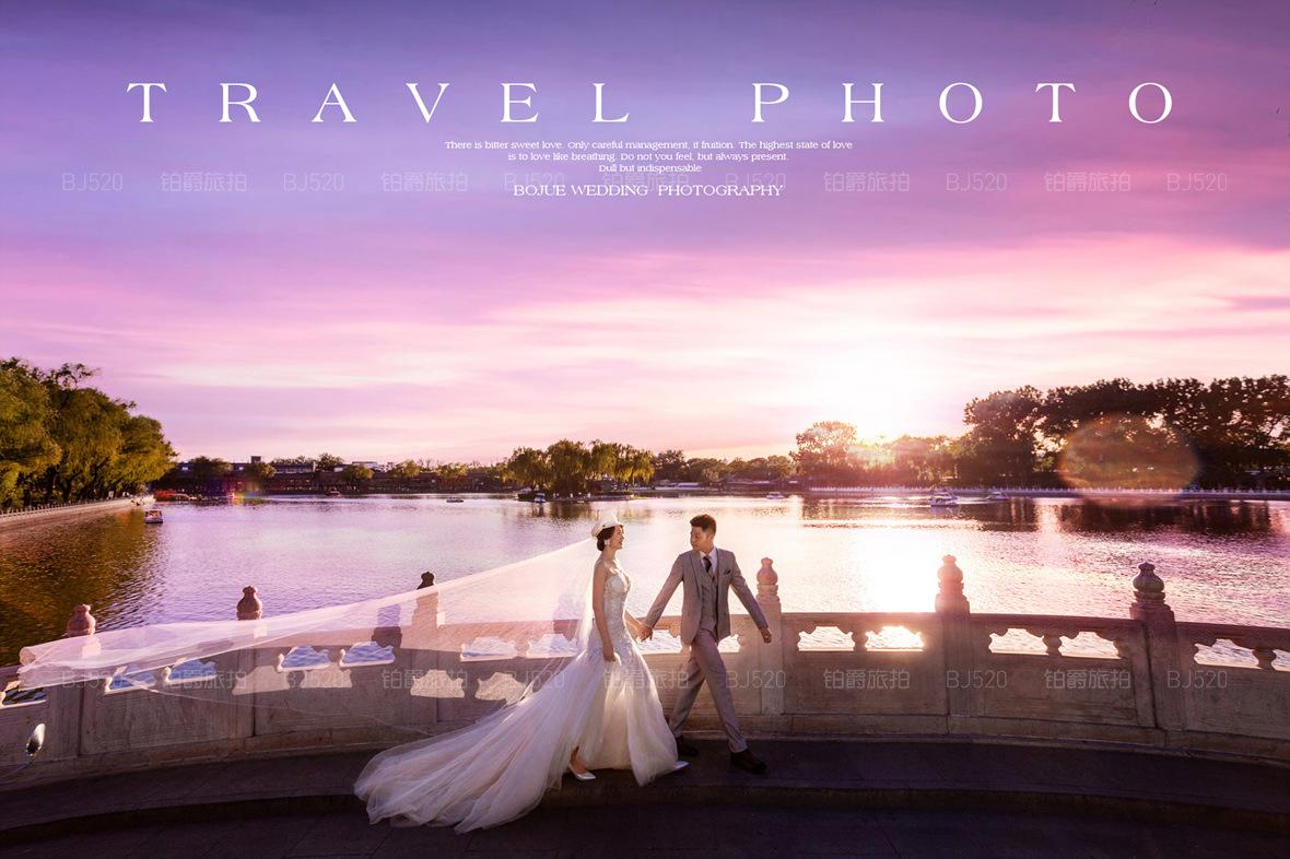 公路情侣拍婚纱照非常好看,婚纱照欣赏