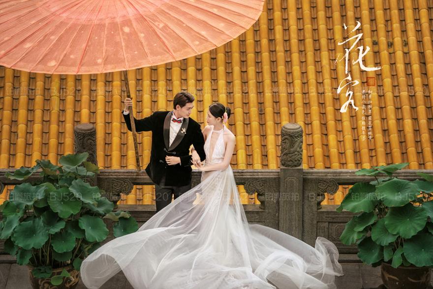 比基尼婚纱照好看吗该怎么拍?