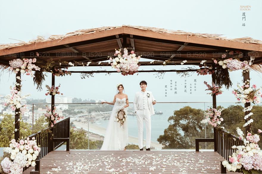廈門婚紗照價格 廈門哪些地方可以拍婚紗照呢