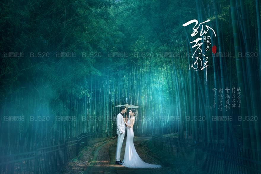厦门婚纱摄影攻略 拍婚纱照如何选择服装?