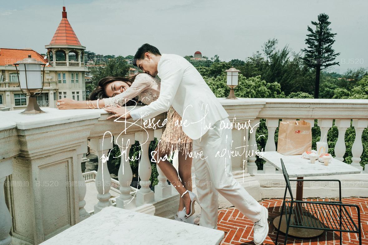 厦门中山路婚纱照姿势攻略 让你的婚纱照更具特色