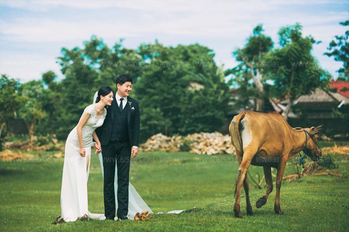 中式婚纱摄影价格大多这几种 你选哪种