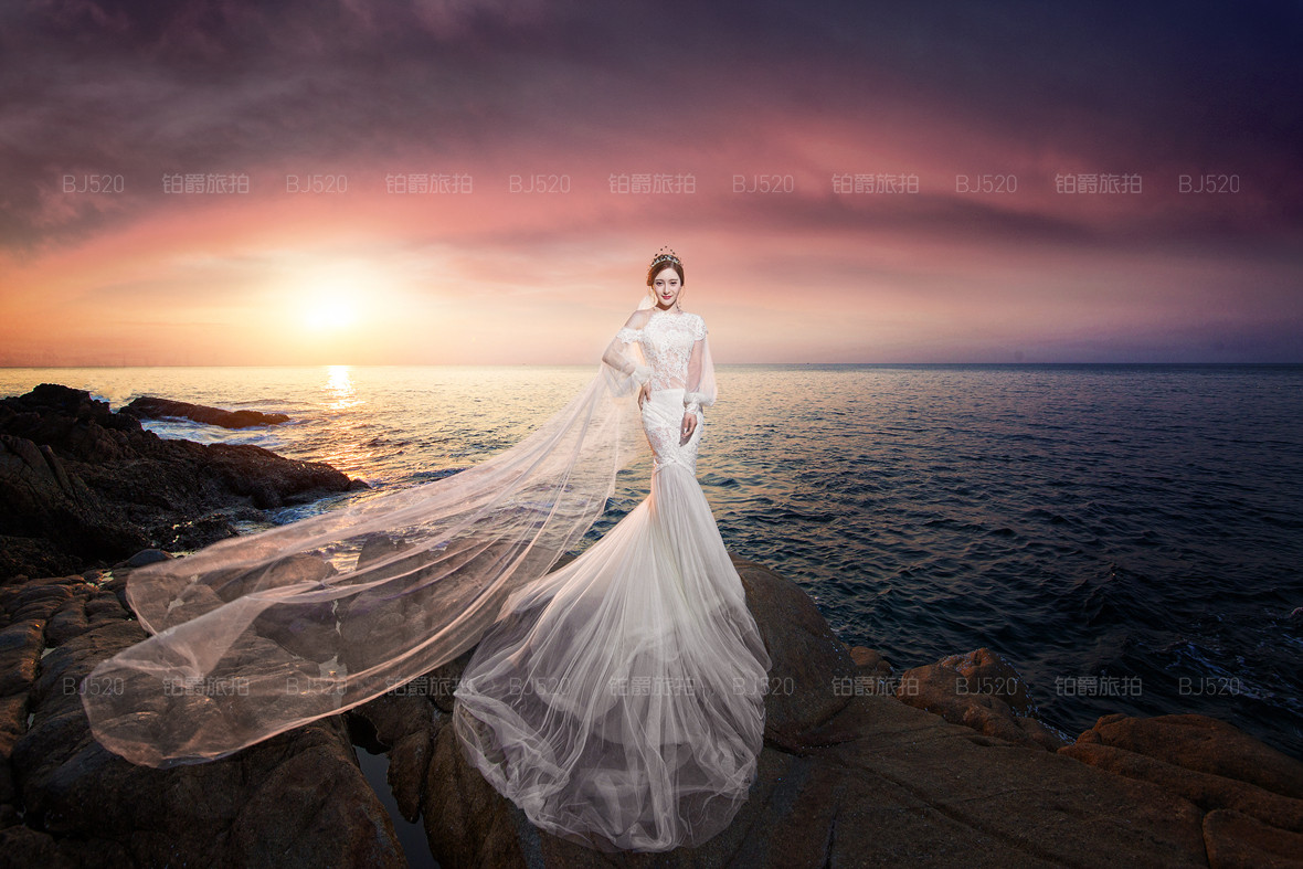 个性婚礼策划方案 在海滩上举行婚礼