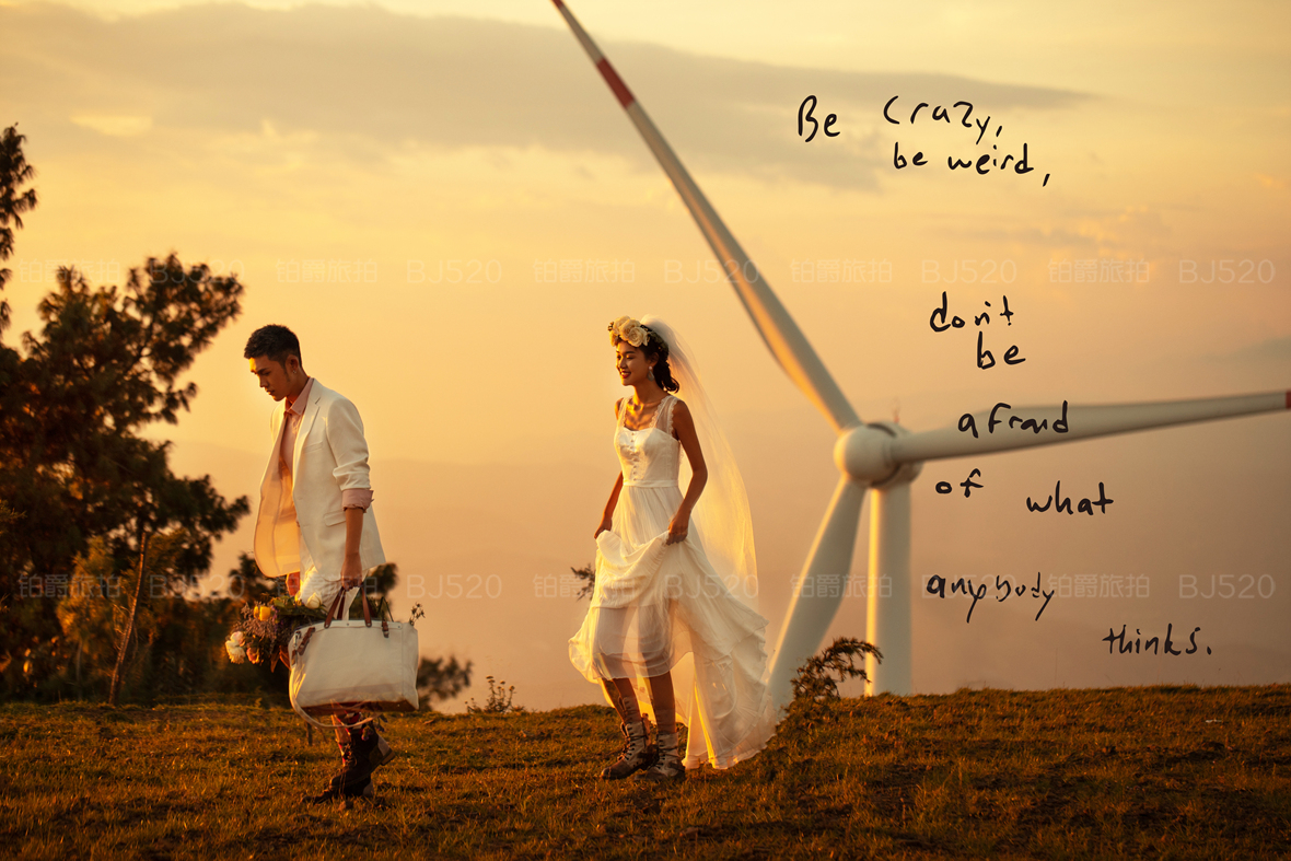 旅拍婚纱照和传统婚纱照有什么区别?