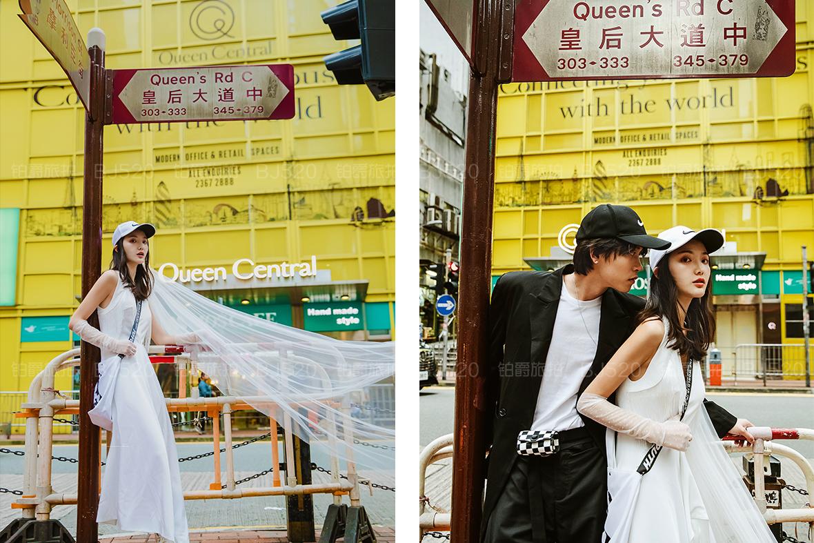 婚纱写真怎么拍?拍婚纱照姿势介绍
