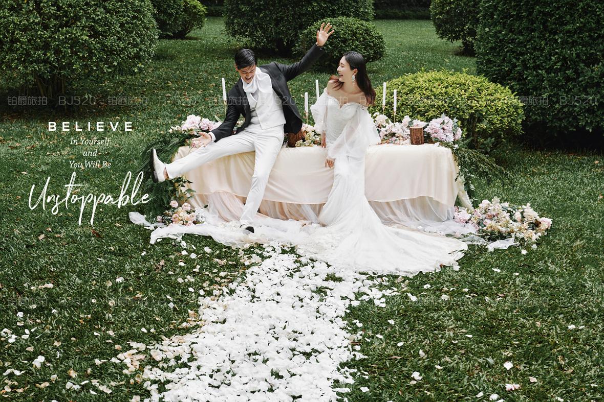拍婚纱照哪里好?铂爵旅拍少不了