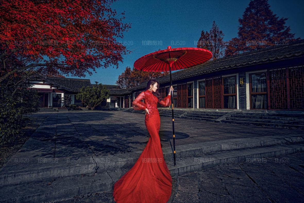 民国风旗袍婚纱照应该怎么拍才好看