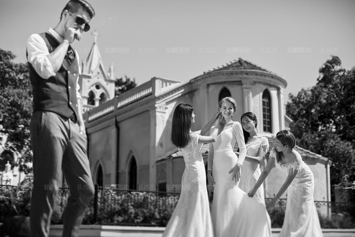 厦门鼓浪屿婚纱照找哪家公司能够提供一站式的服务?