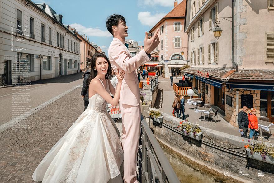 婚纱照厦门哪些地方拍摄最完美,驾驭森系风格婚纱照