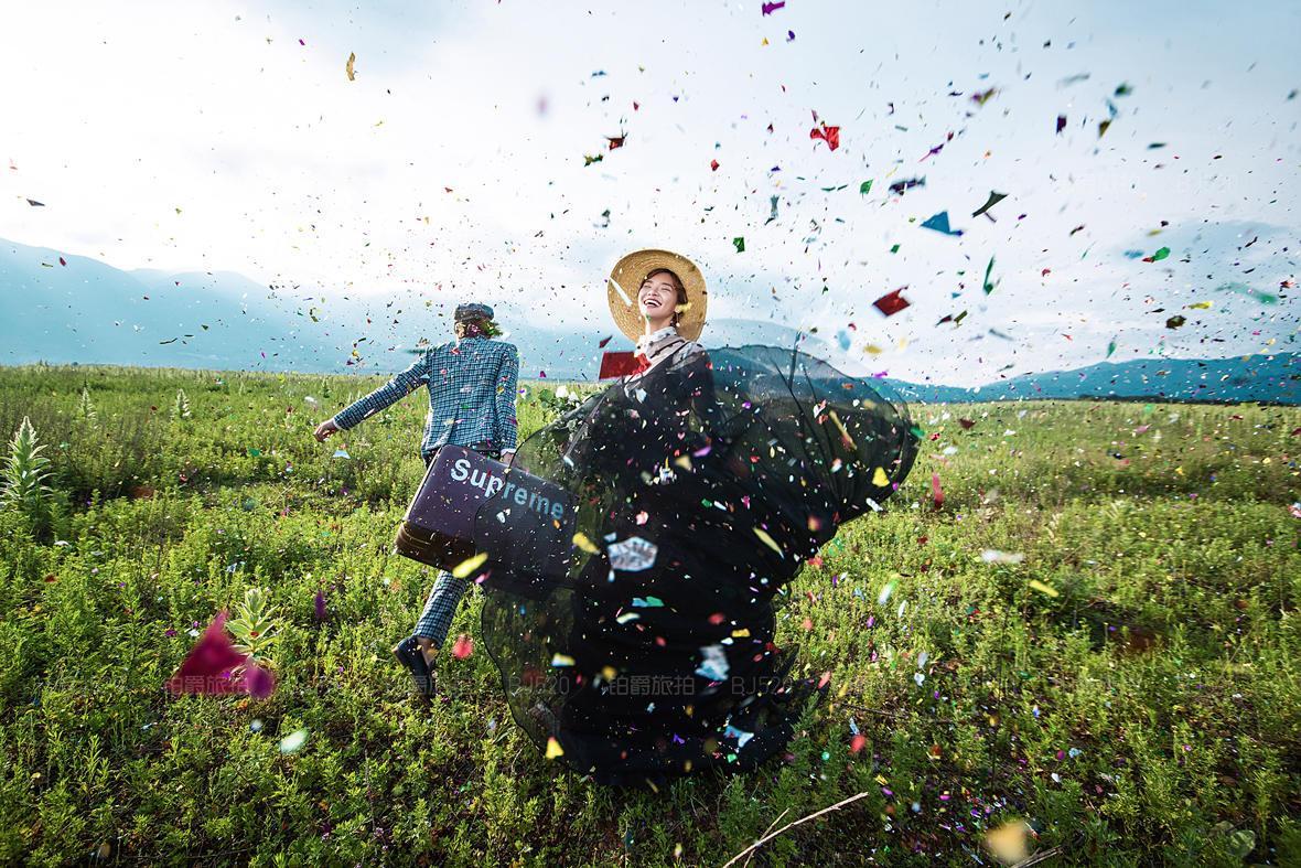 丽江外景婚纱照找哪家公司拍比较好?比较有特色?