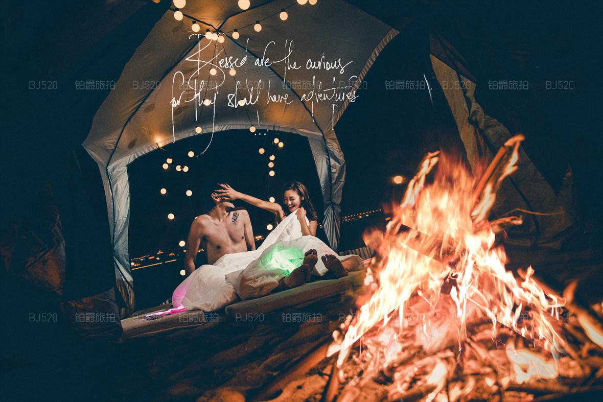 厦门鼓浪屿适合拍夜景婚纱照吗?如何选择婚纱摄影工作室
