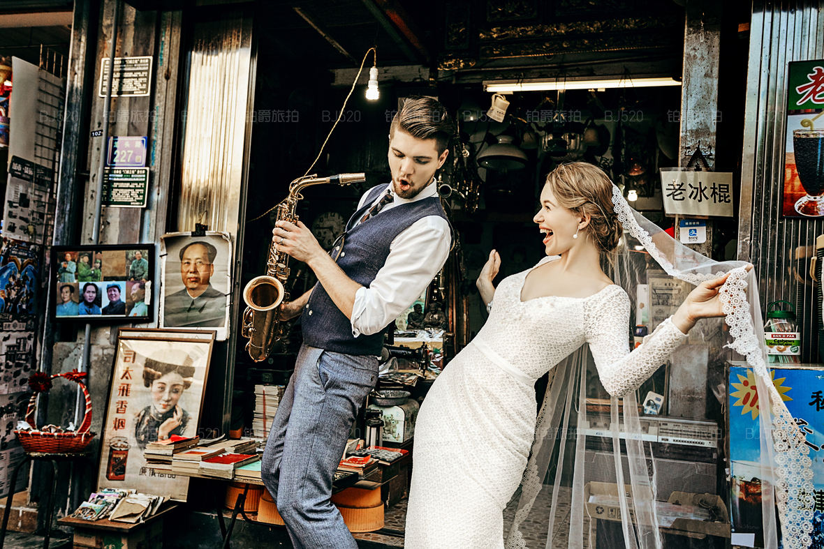 十一月份厦门旅拍婚纱照景点,有故事的婚纱照这里拍