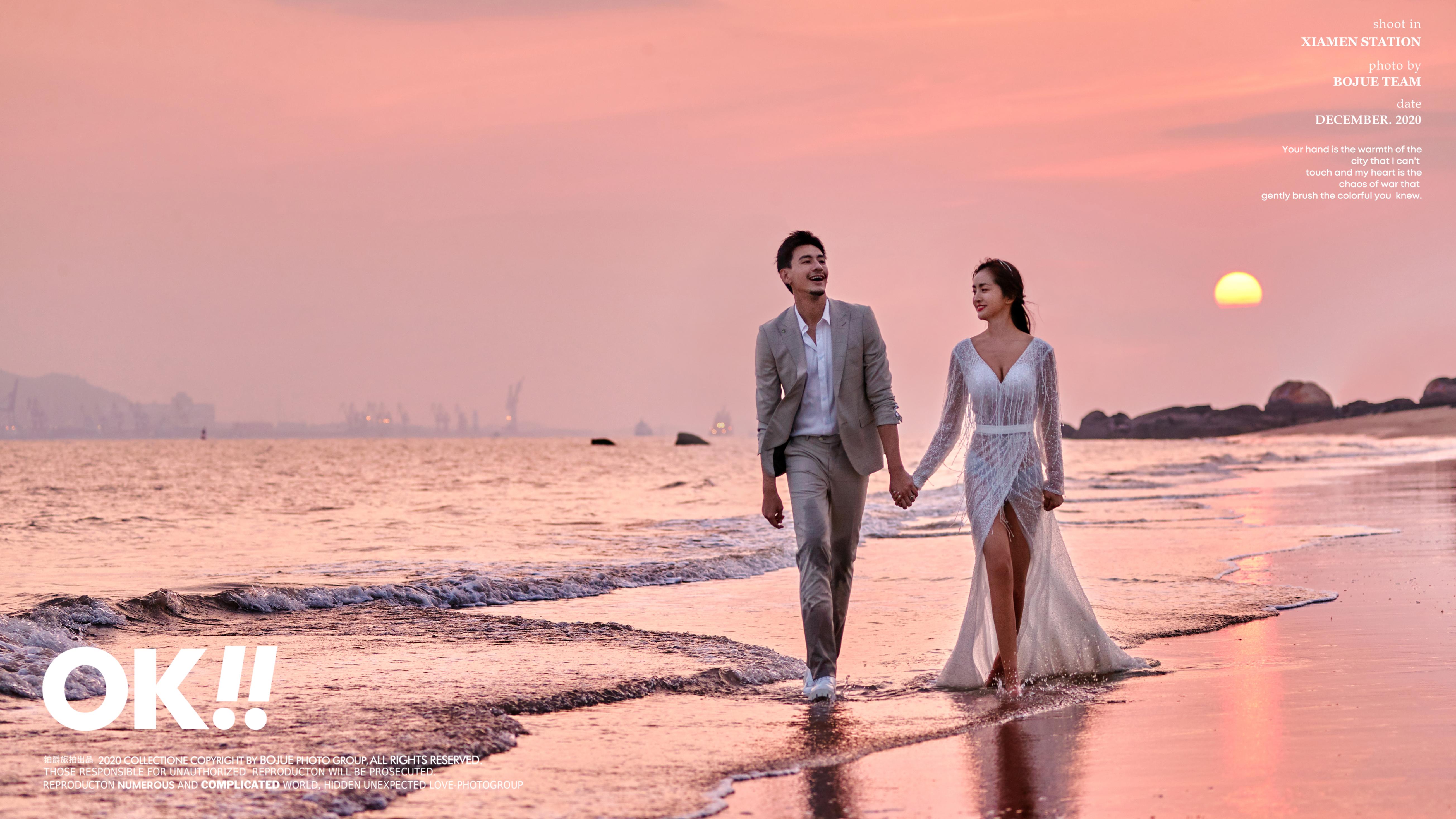 厦门婚纱照 冬季厦门婚纱摄影风格有哪些供大家选择