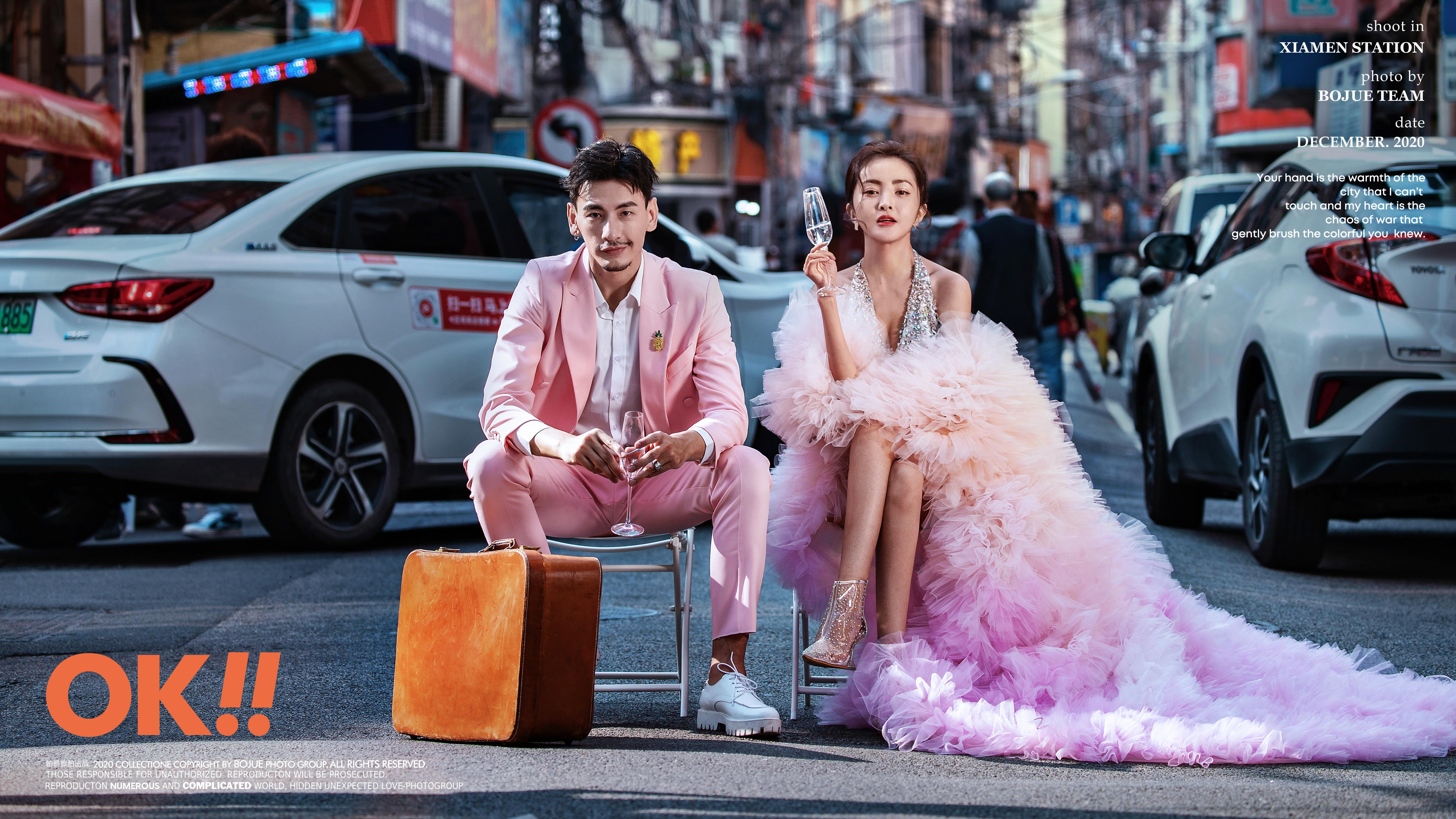 中山路婚纱照怎么拍出电影质感 厦门婚纱摄影技巧分享 怎么拍好看
