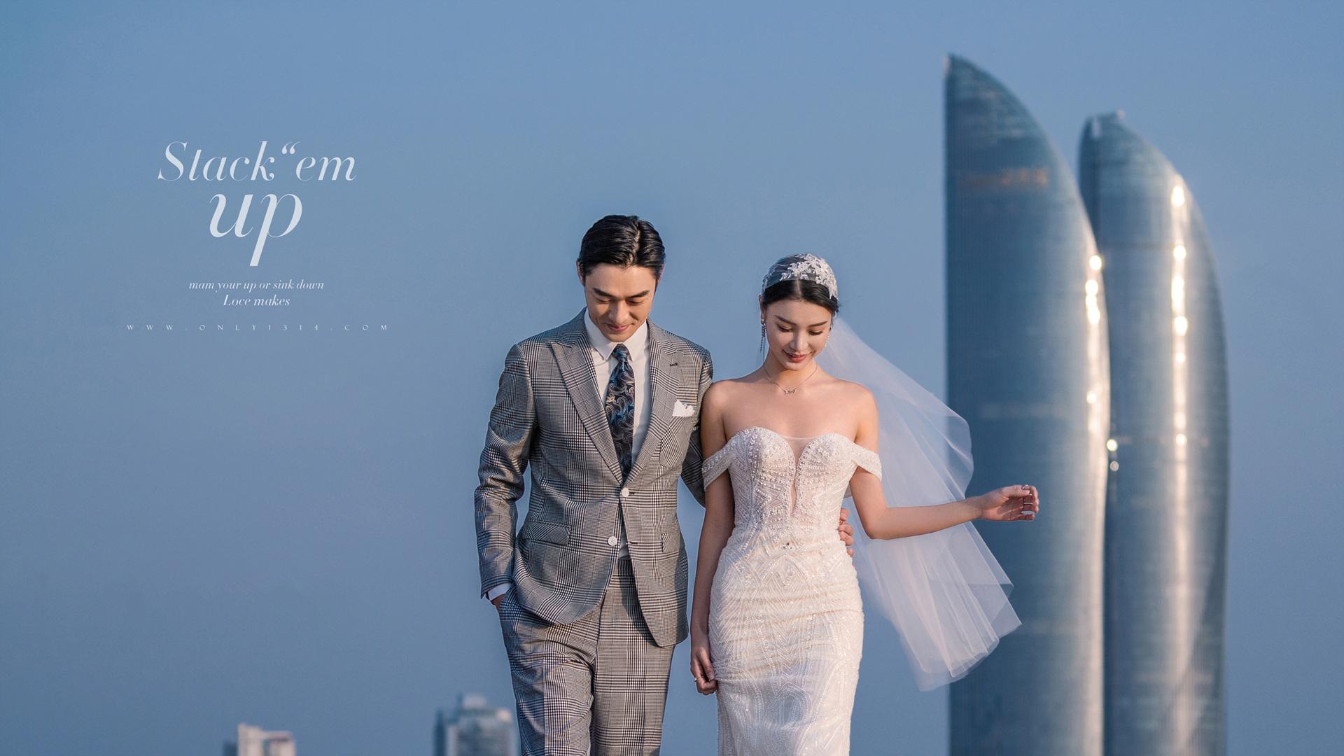 拍婚纱照表情不会做怎么办 厦门婚纱照拍摄建议 怎样做造型才好看