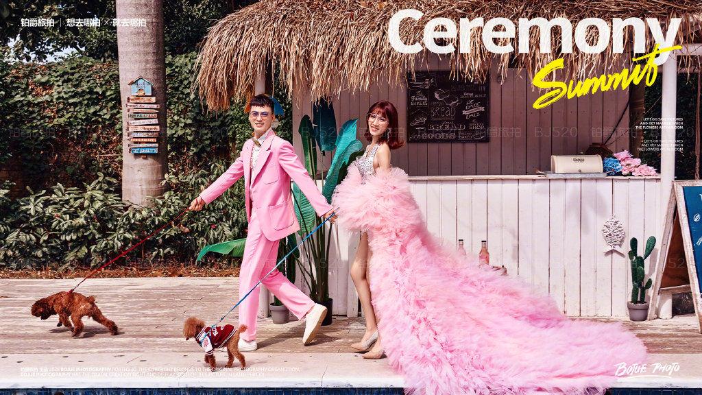 厦门婚纱照 夏季厦门婚纱摄影风格有哪些