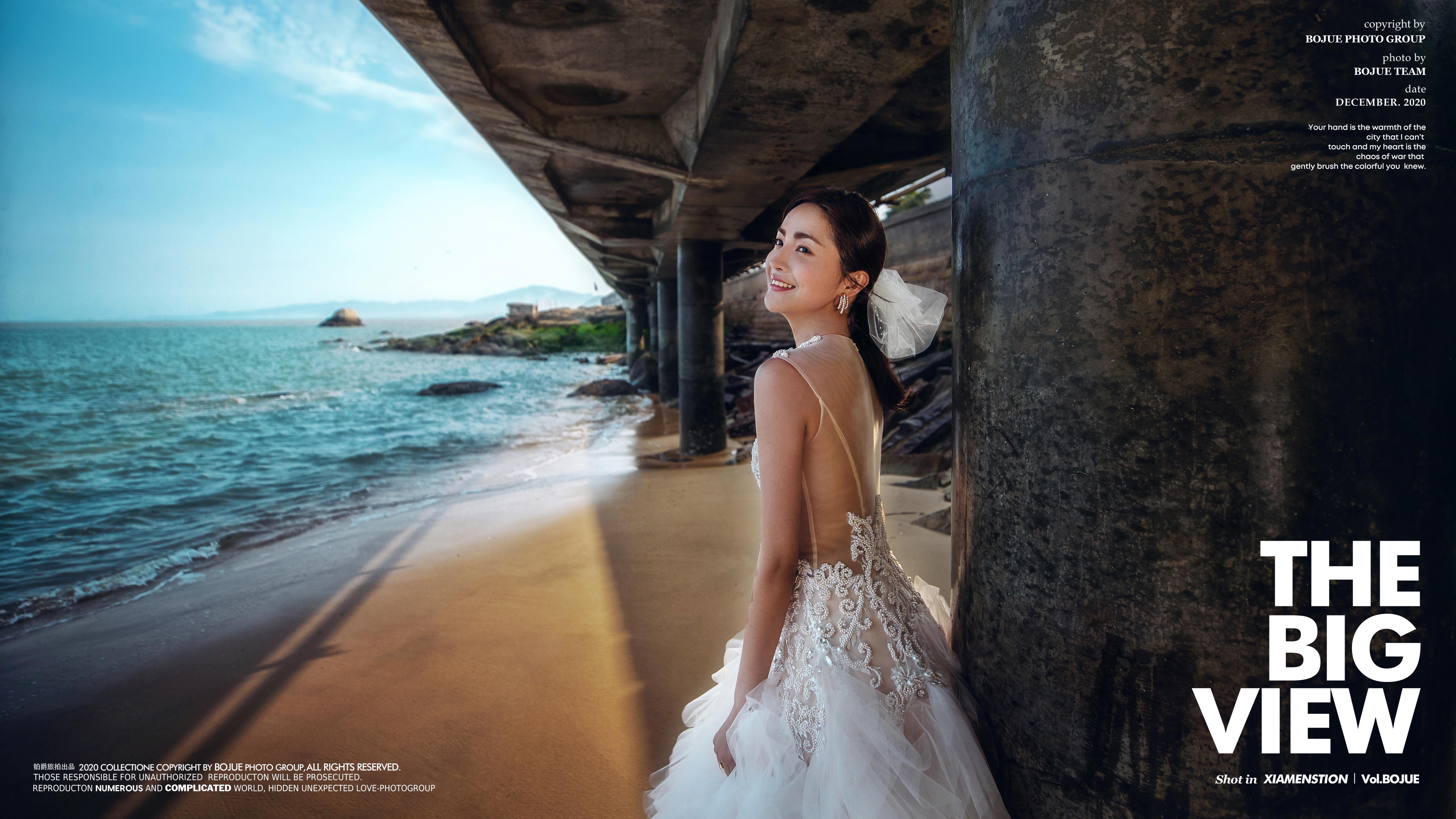 厦门高端旅拍婚纱照贵吗?拍婚纱照怎么选择婚纱?