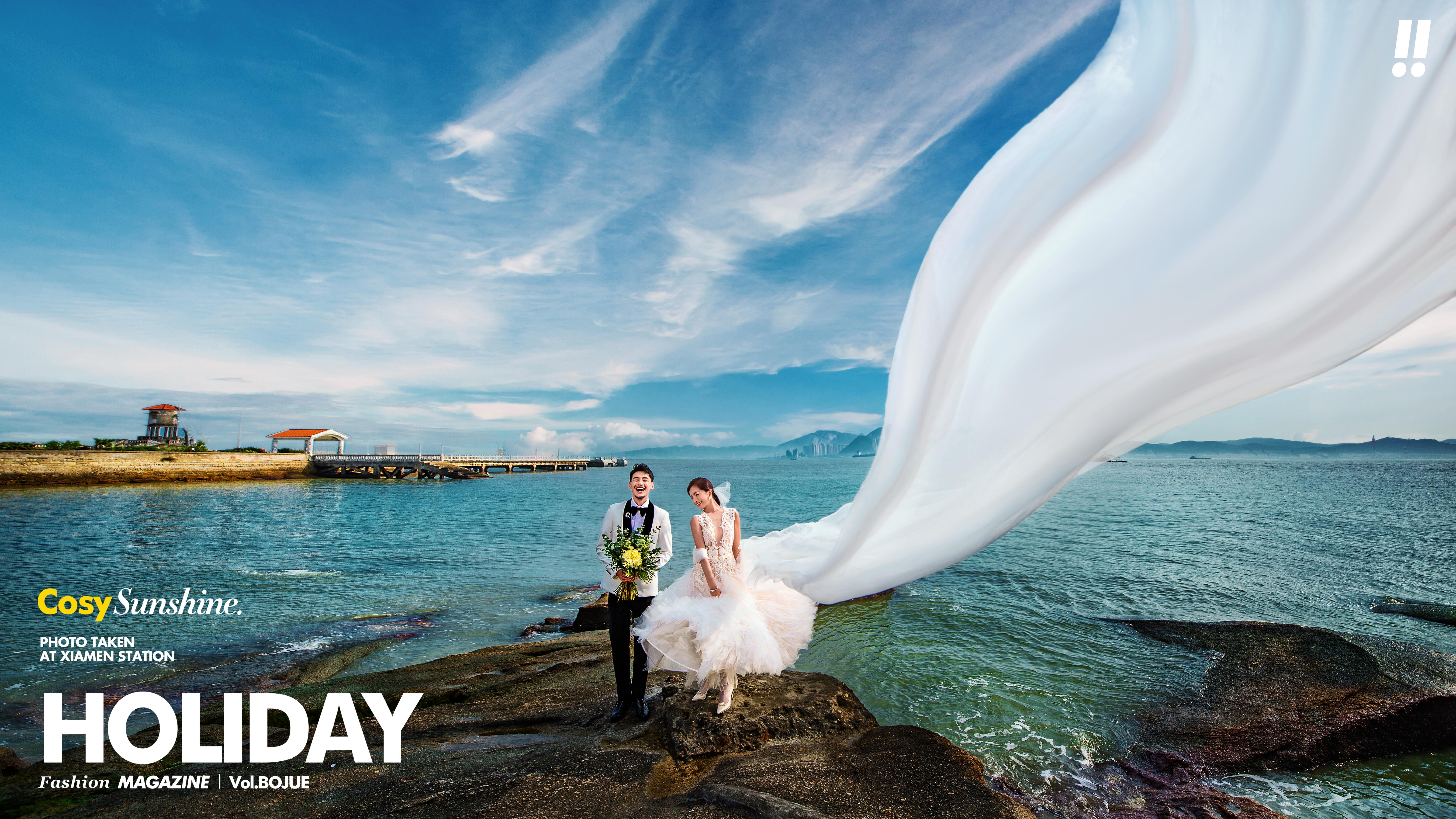 海景婚纱照几月份拍好 厦门海景婚纱摄影什么时候最合适