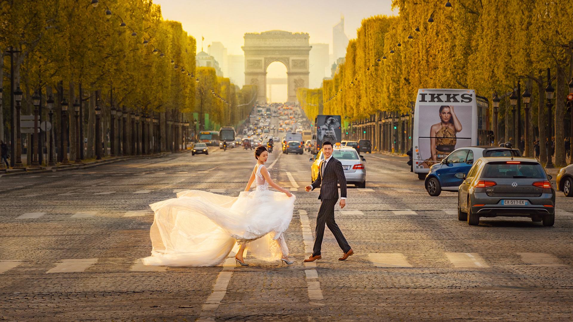 婚纱照精修和原图差距大吗 拍完婚纱照多久可以选片
