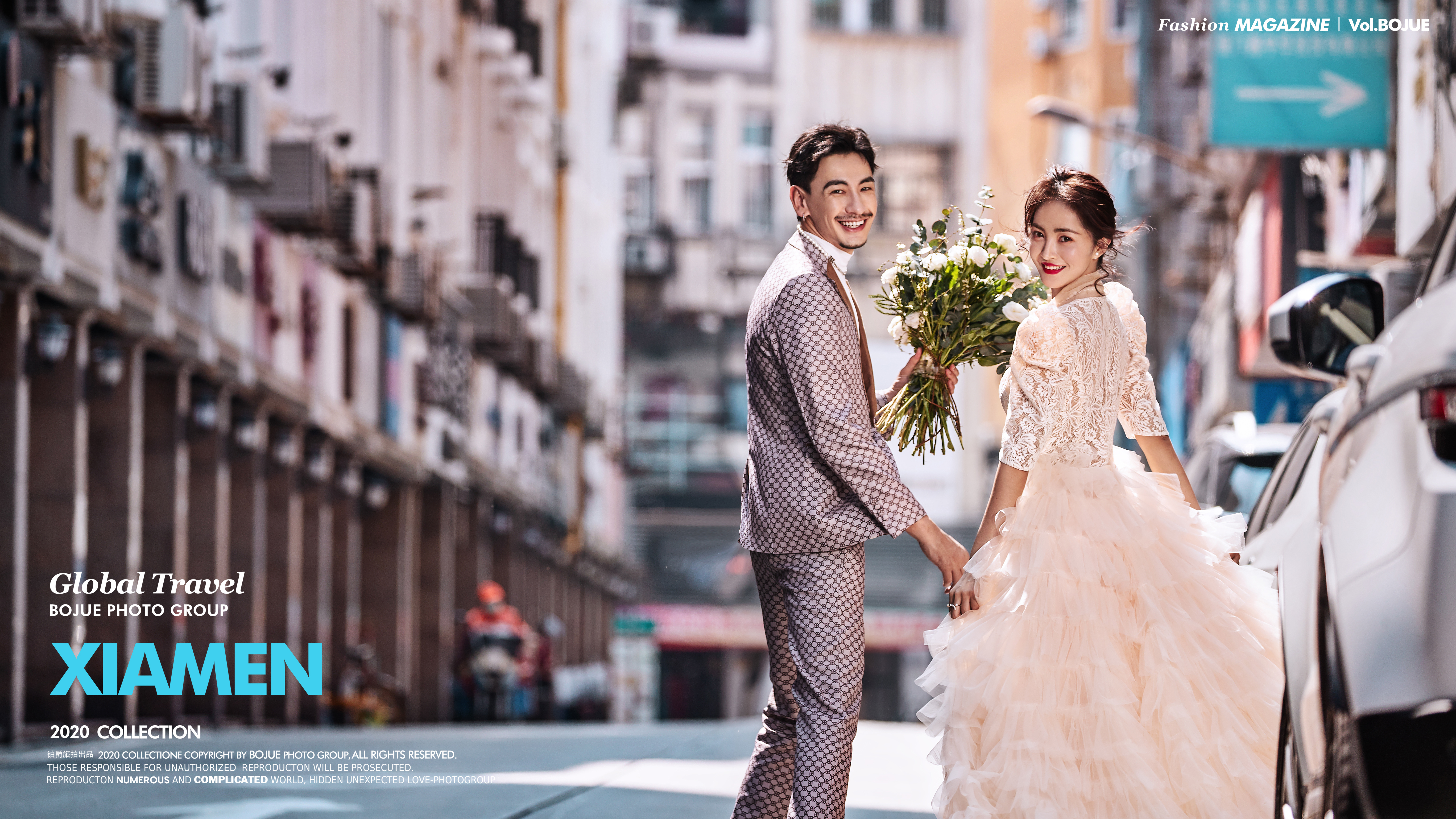 厦门婚纱照拍摄有没有好的店家?铂爵旅拍怎么样?