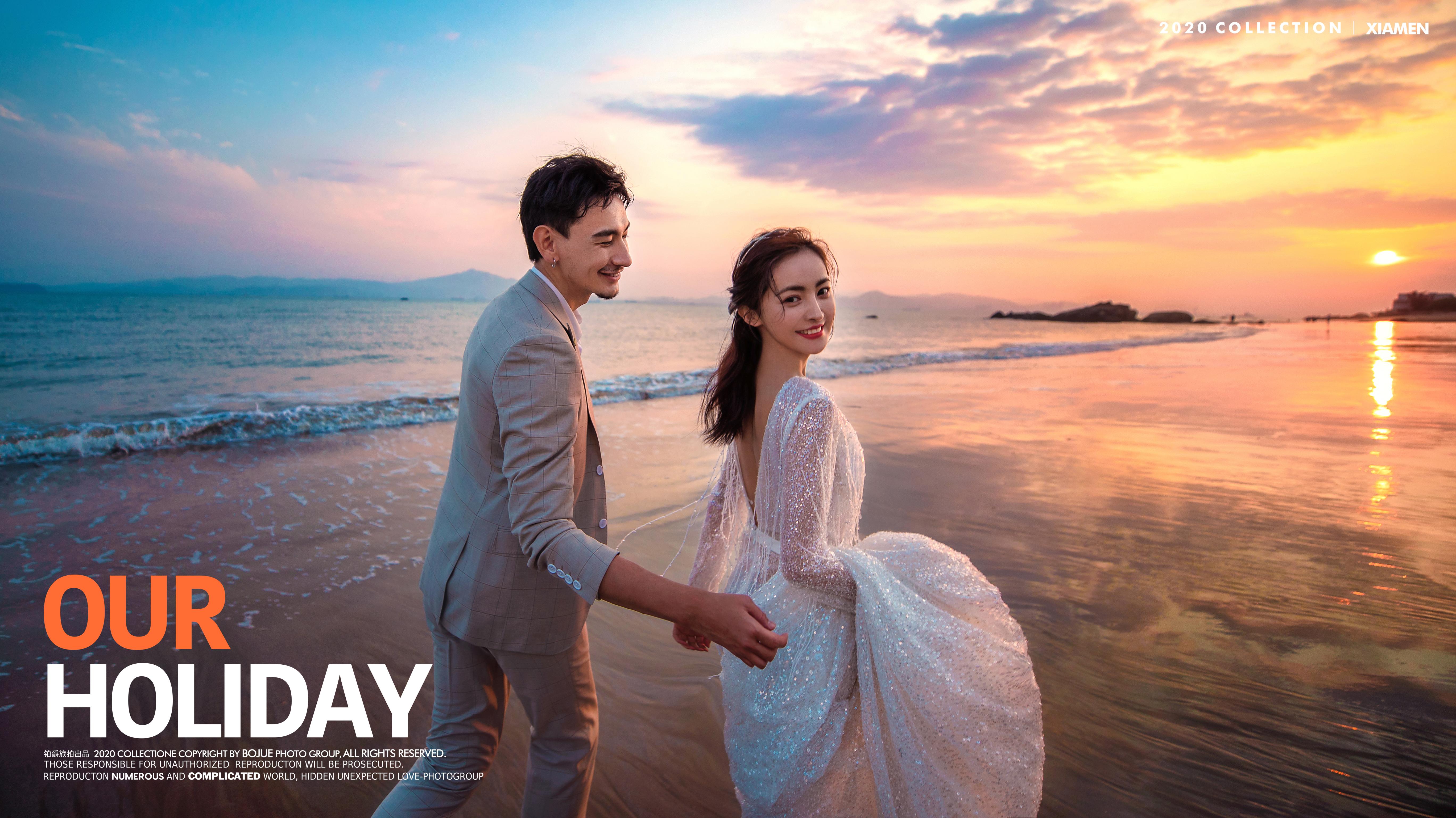 厦门海景婚纱摄影可以拍出什么效果 海景拍摄要注意什么
