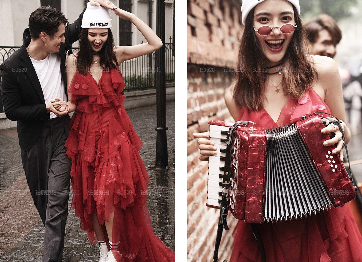 古典婚纱照穿什么服装 厦门适合拍摄古典婚纱照吗