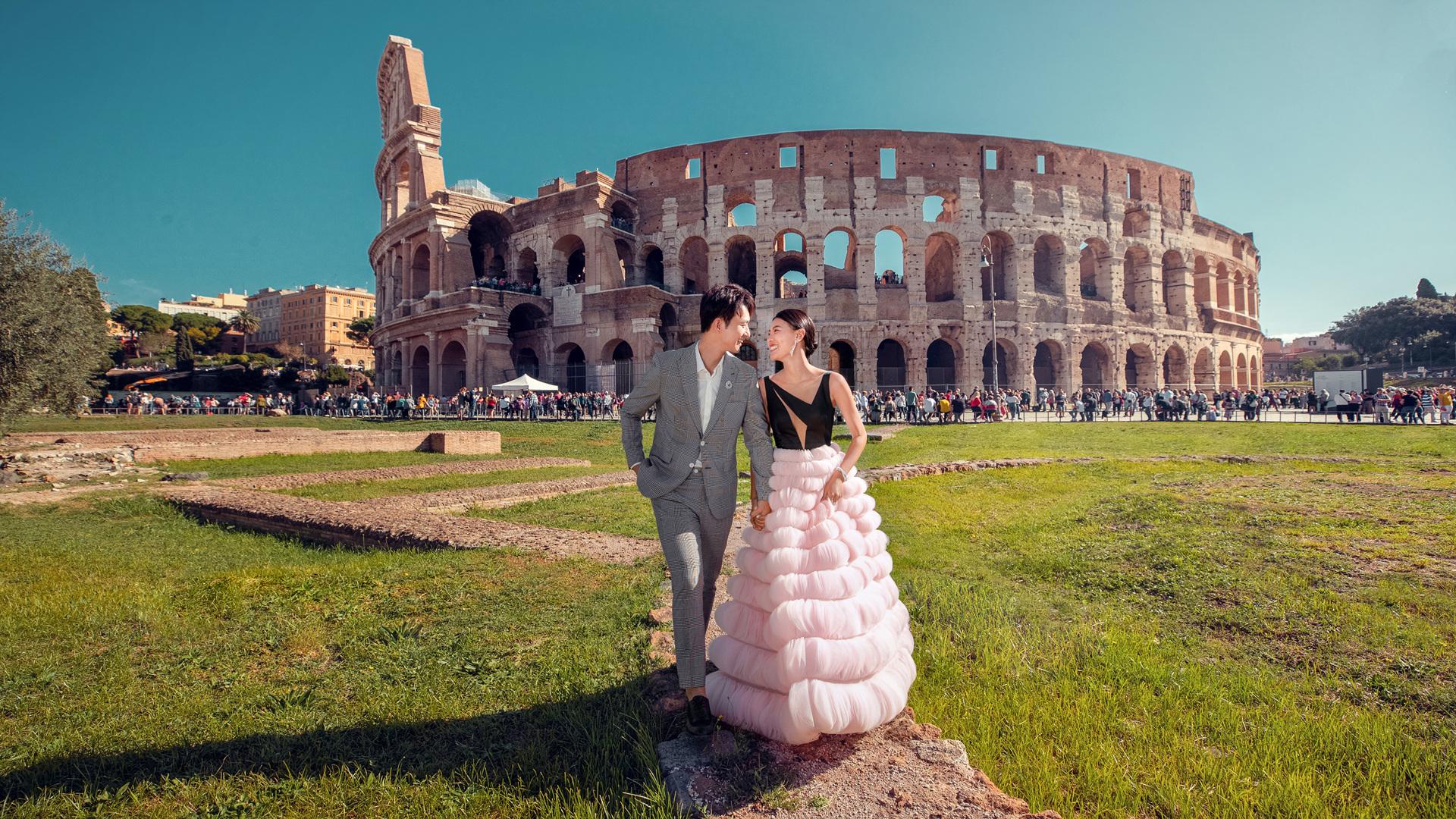 厦门万石植物园拍摄婚纱照如何穿搭好